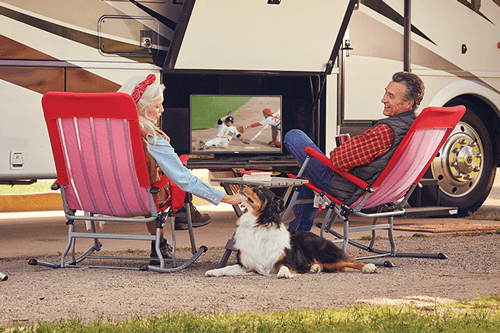 Watch DISH TV Outdoors in the RV- Kendallville, IN - First Source Marketing - DISH Authorized Retailer