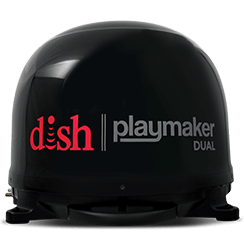 DISH Playmaker Dual - Outdoor TV - Kendallville, IN - First Source Marketing - DISH Authorized Retailer